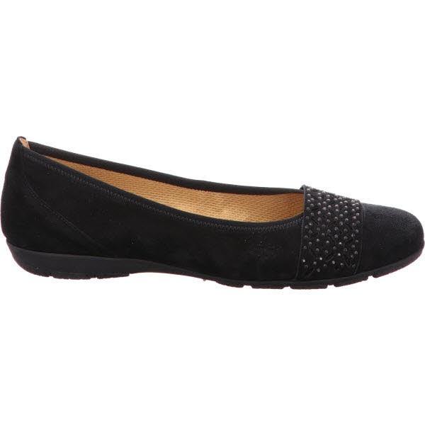 Gabor Shoes schwarz   Ballerina   Übergrößen Damen   Regina Schuhmoden 97ed4a797e